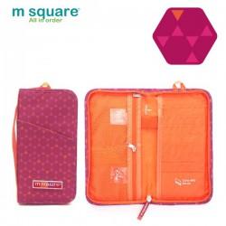 Ví đựng passport du lịch Msquare Business II Pink