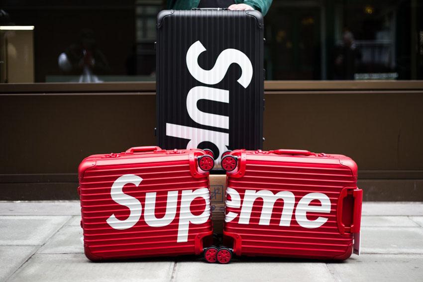 chiếc vali Rimowa supreme