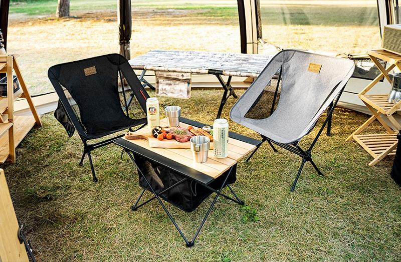 Ghế gấp dã ngoại Kazmi K21T1C01 rất thích hợp dùng khi đi dã ngoại cắm trại du lịch