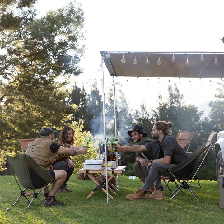 Ghế gấp gọn Naturehike NH20JJ027 sẽ mang lại không gian nghỉ ngơi thoải mái cho bạn