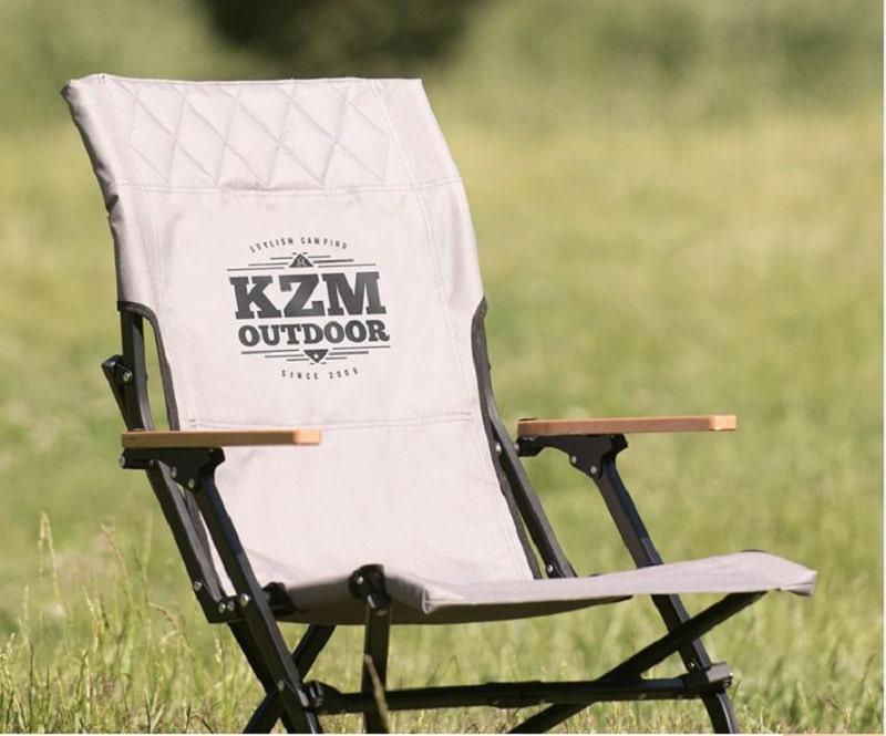 Ghế xếp cao cấp Kazmi K20T1C003 bằng nhôm màu bạc trắng