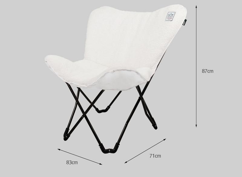 Kích thước ghế xếp nệm Kazmi K20T1C004