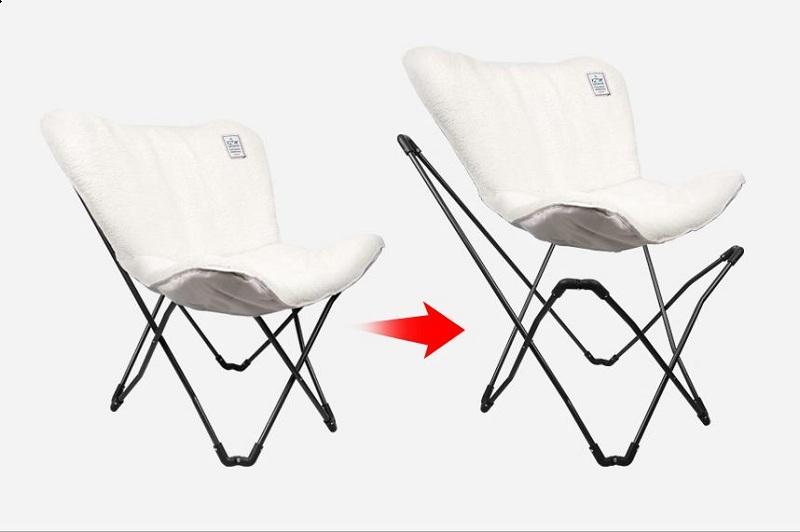 Thiết kế gấp gọn tiện lợi của ghế xếp nệm Kazmi K20T1C004