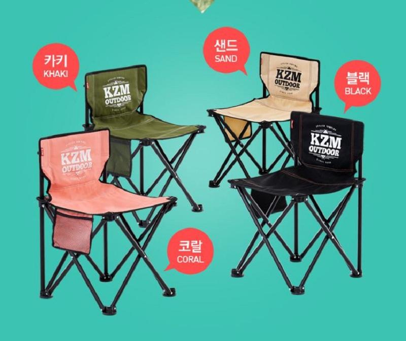 Các mẫu ghế xếp phượt Kazmi K9T3C001 bằng thép, polyester có nhiều màu khác nhau
