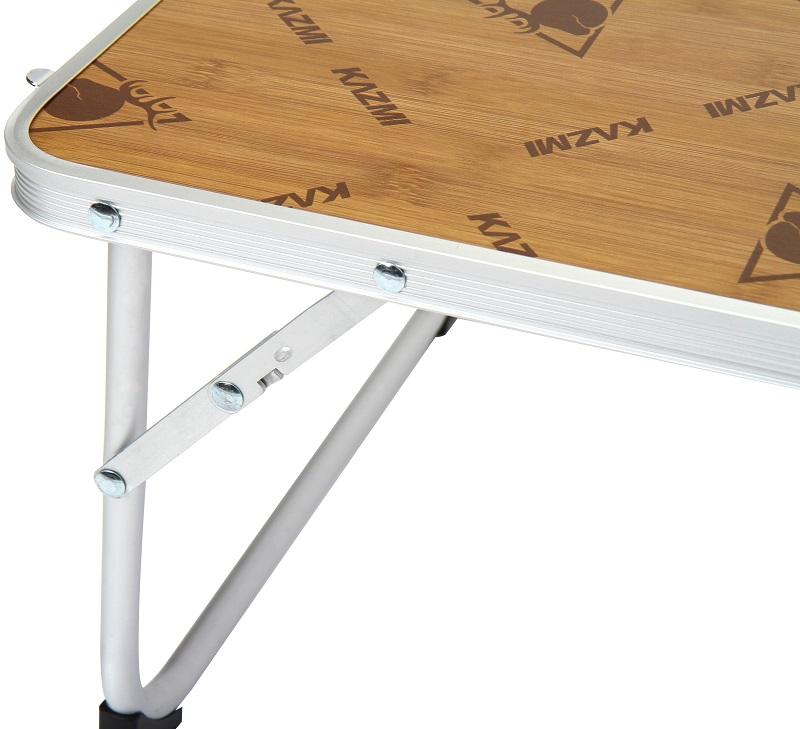 chi tiết bàn gấp mini Kazmi Slim Mini K5T3U001