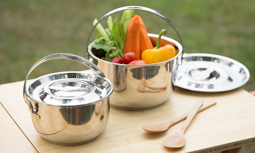 Chuẩn bị đồ ăn đi picnic không thể thiếu dụng cụ nấu ăn