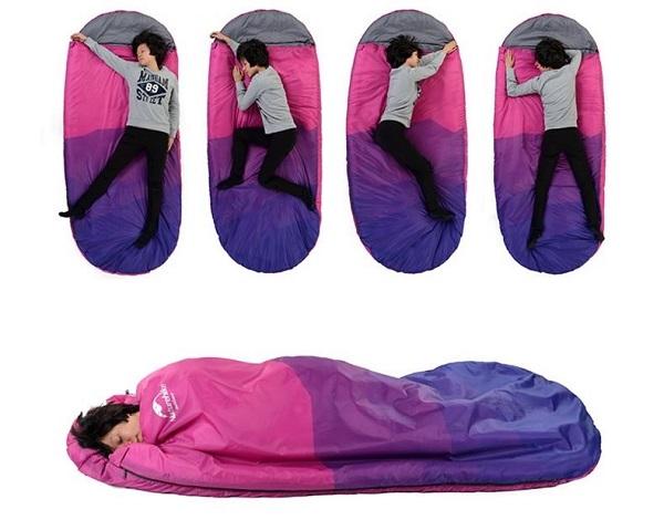 túi ngủ du lịch văn phòng naturehike pad300 tc