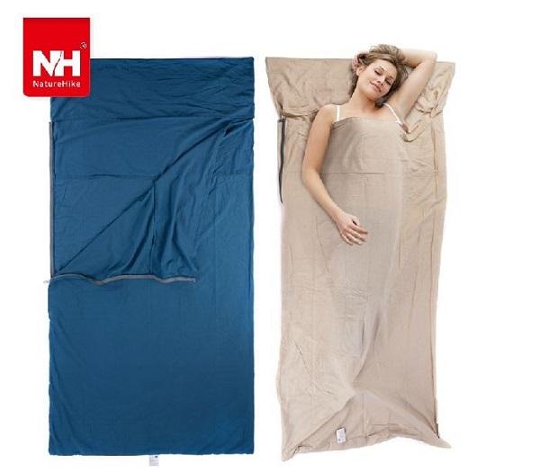 túi ngủ cotton mỏng naturehike nh15s0120-d