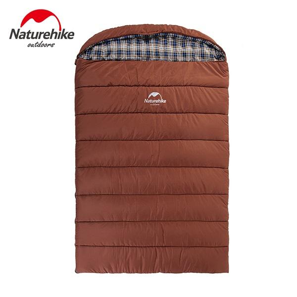 túi ngủ Naturehike cho gia đình màu nâu