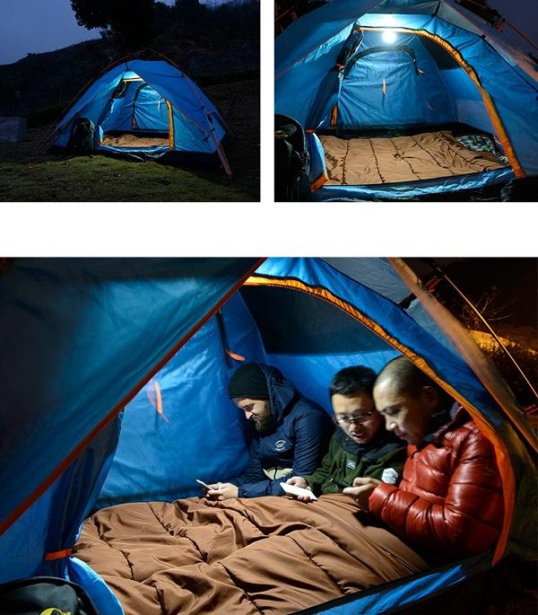 túi ngủ Naturehike cho gia đình đi dã ngoại