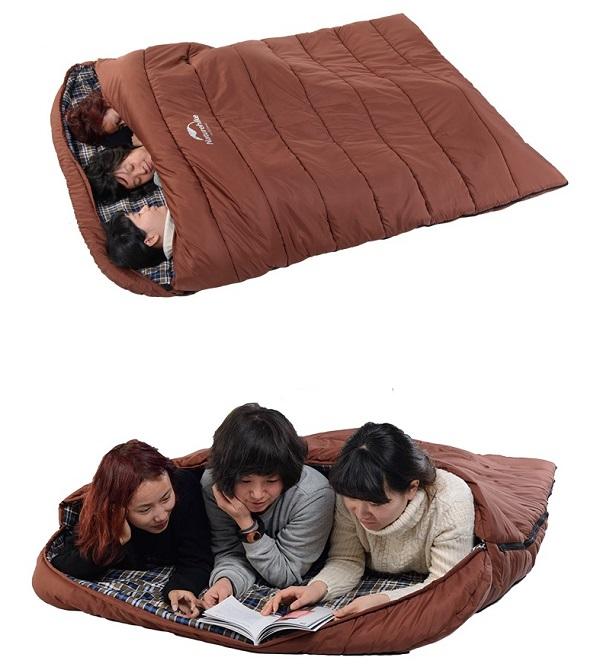 túi ngủ Naturehike dã ngoại cho gia đình