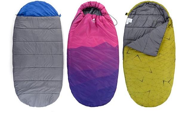 các loại túi ngủ văn phòng pad300 tc
