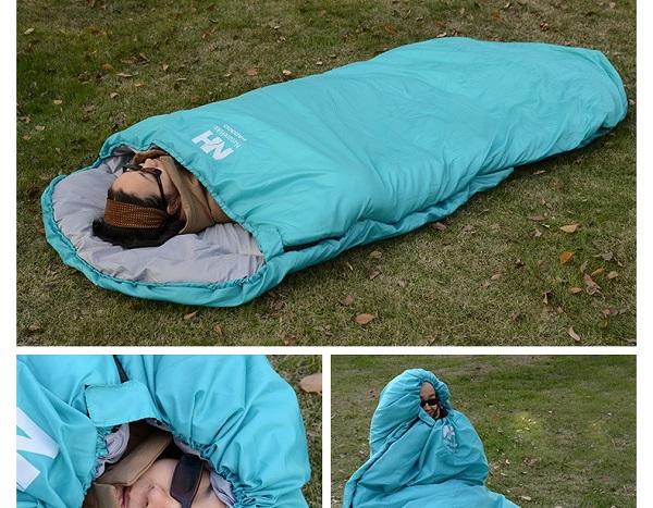túi ngủ dã ngoại văn phòng pad300s
