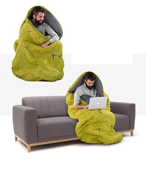 túi ngủ trưa cho văn phòng naturehike pad300 tc