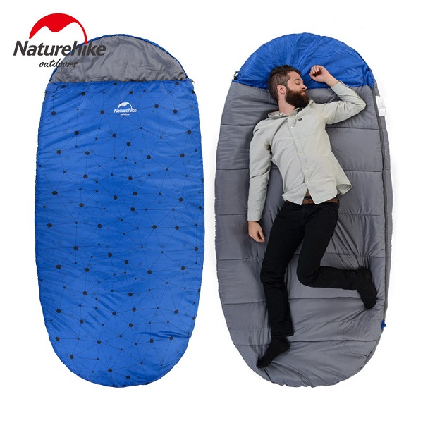 túi ngủ văn phòng naturehike pad300 tc