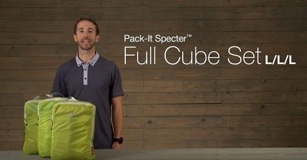 bộ 3 túi đựng đồ du lịch Eagle Creek Mỹ Pack It Specter size M