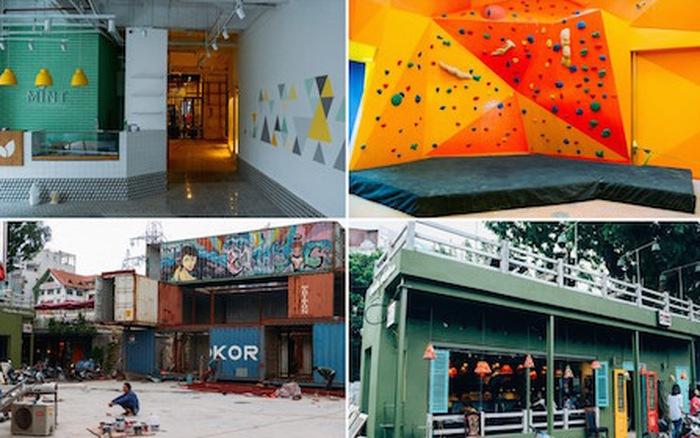 khu vui chơi giải trí ở Hà Nội Creative City với nhiều không gian vui chơi khác nhau