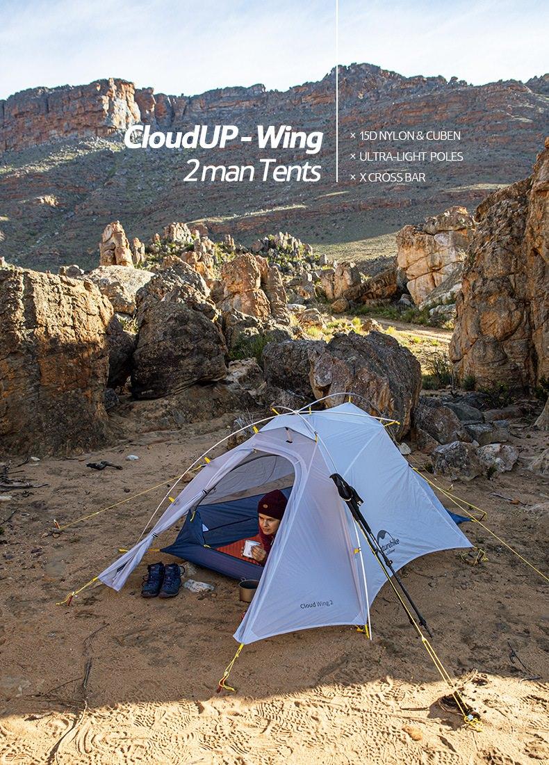 lều 2 người Naturehike