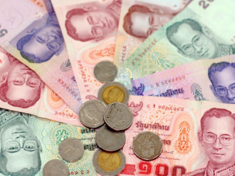 Tiền giấy và tiền xu Thái lan