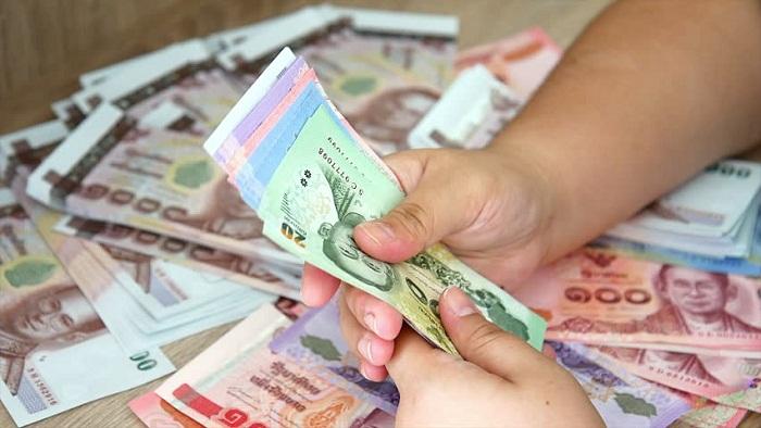 Đổi các mệnh giá tiền Thái Lan