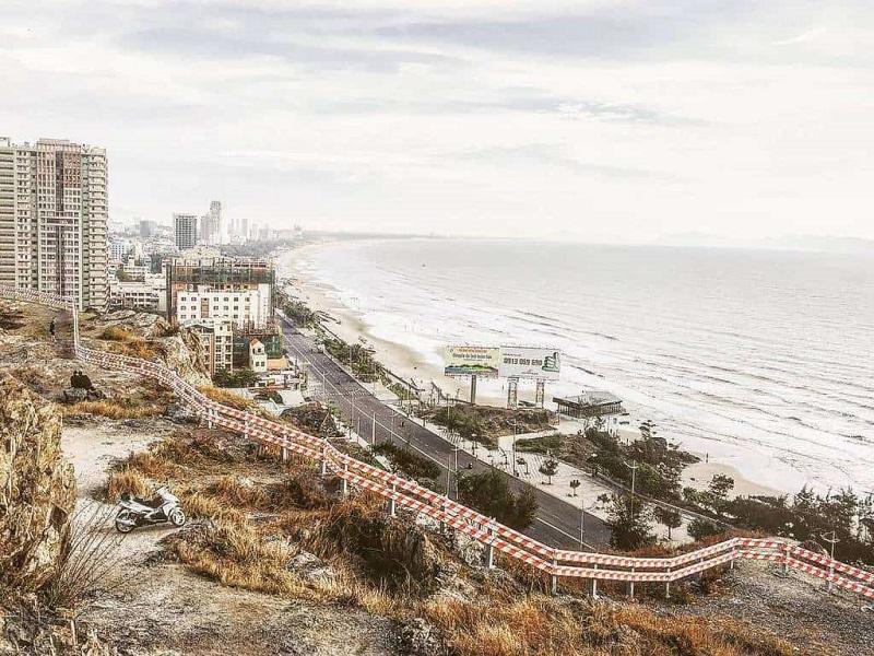 View nhìn từ đồi Con Heo Vũng Tàu