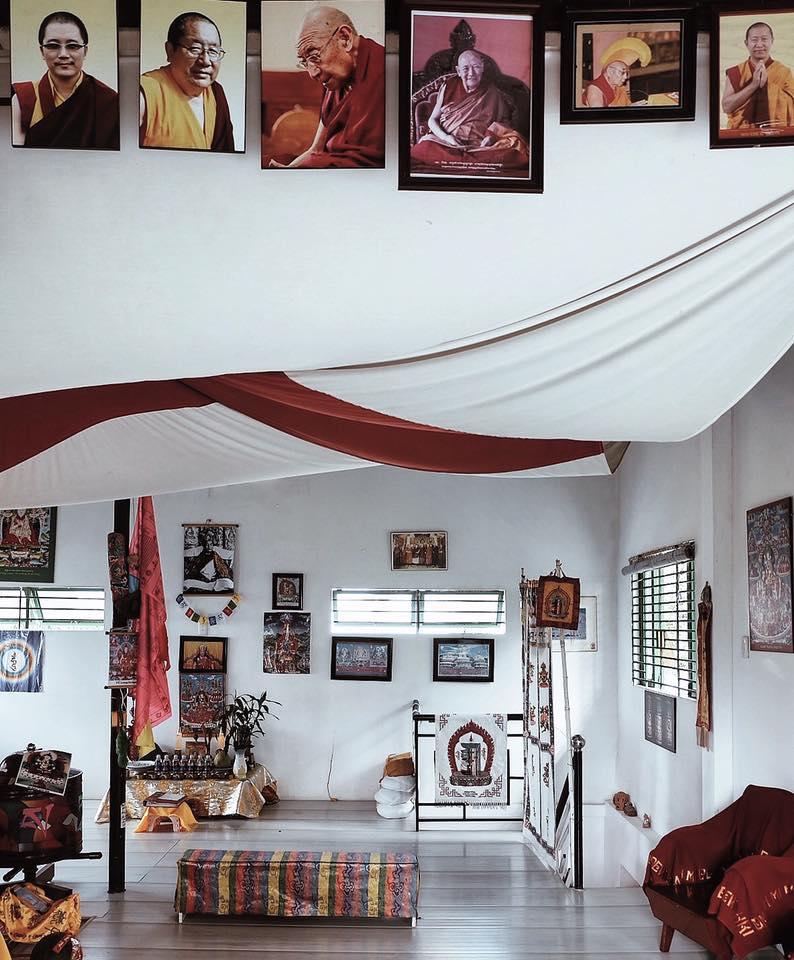 Không gian chùa Bồ Đề Vũng Tàu mang phong cách Tây Tạng