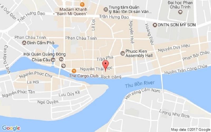 Bản đồ du lịch Đà Nẵng Hội An