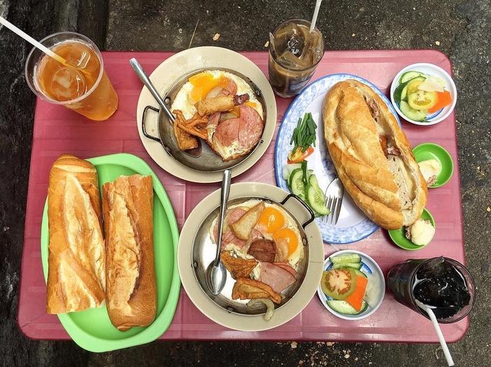 Các quán ăn sáng ngon ở Sài Gòn