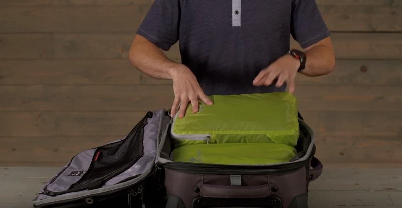 Khả năng chứa đồ của túi đựng đồ du lịch Eagle Creek