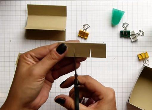 Cách làm hộp đựng mỹ phẩm
