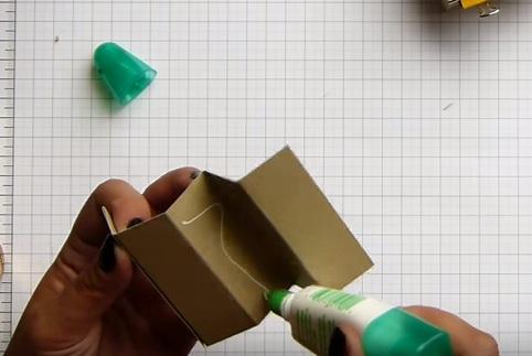 Csch làm hộp đựng mỹ phẩm handmade
