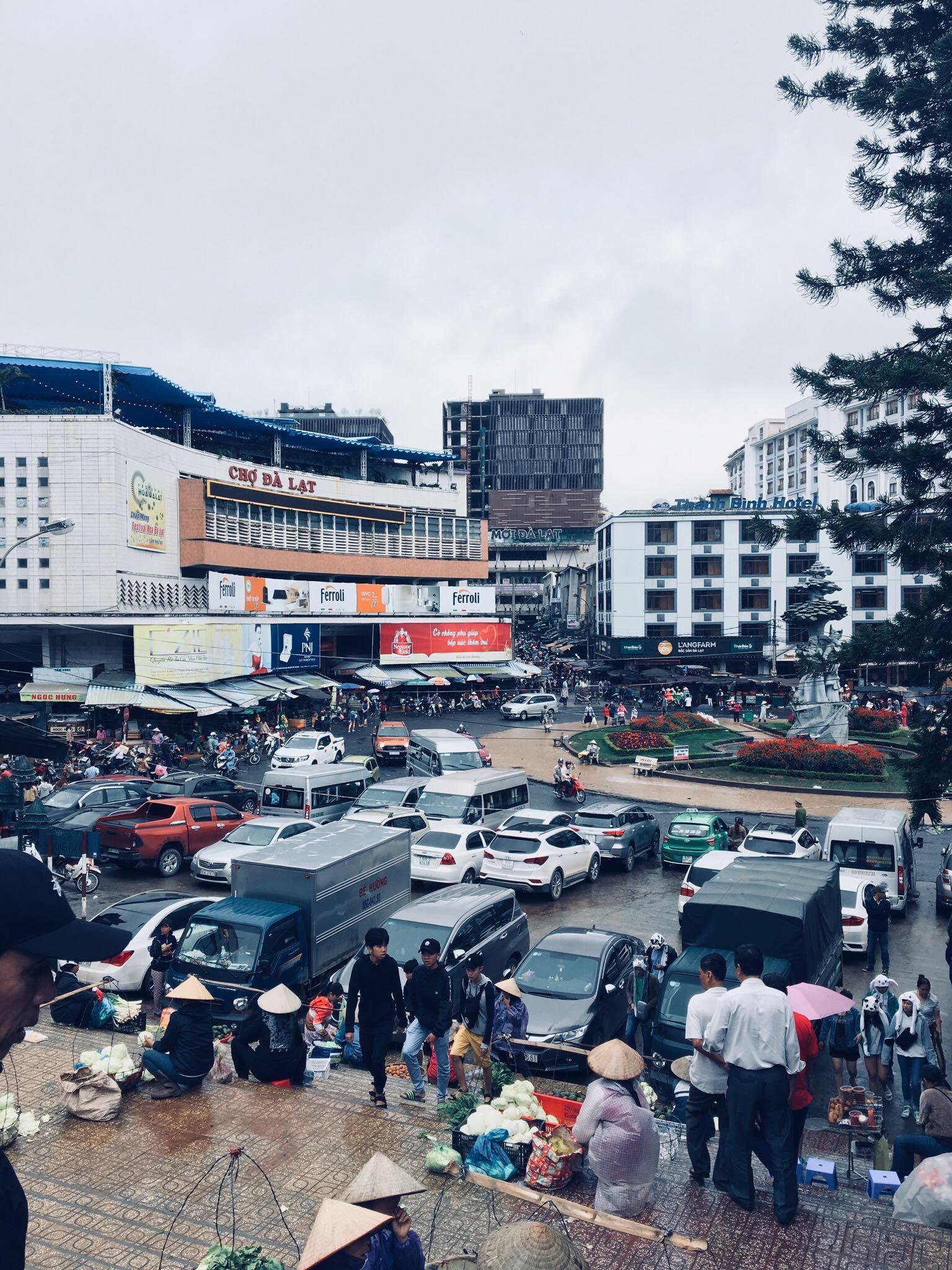 Chợ Đà Lạt ở đường nào
