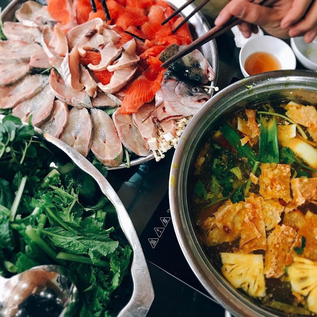 Lẩu cá hồi Sapa ăn ở đâu ngon?