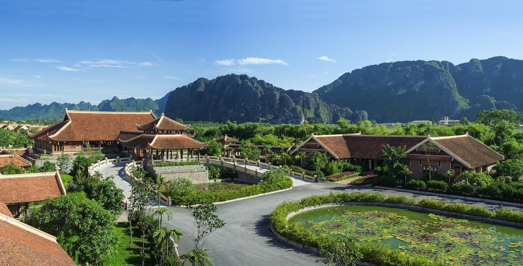 Toàn cảnh Emeralda Resort Ninh Binh như một kinh đô xưa