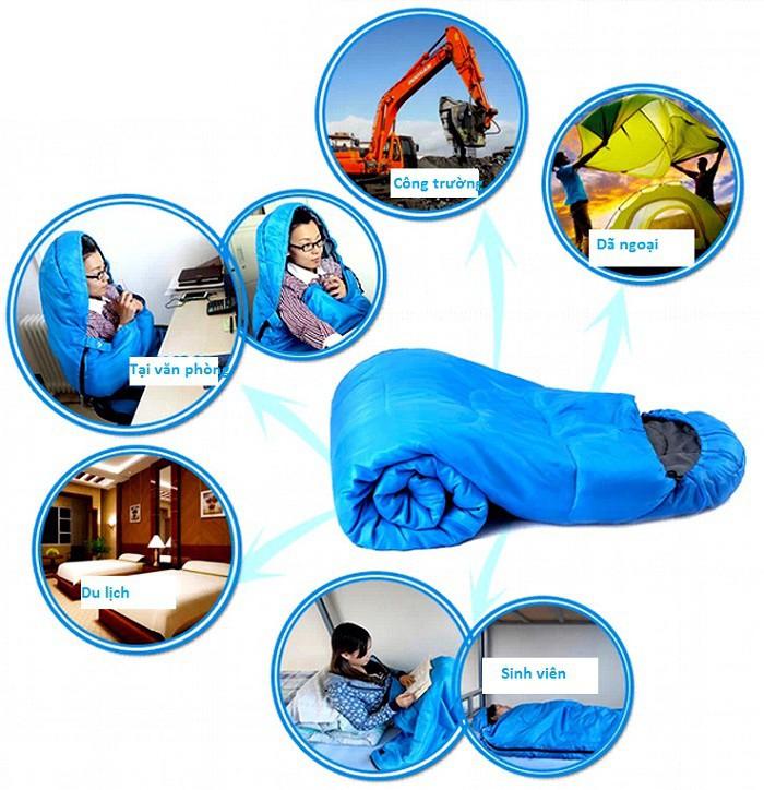 cách chọn túi ngủ
