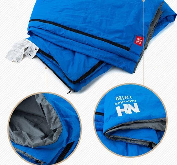 Thiết kế của túi ngủ đôi du lịch văn phòng