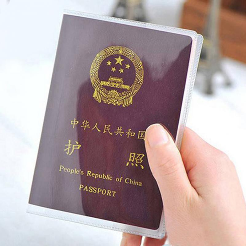 bao đựng hộ chiếu trong suốt