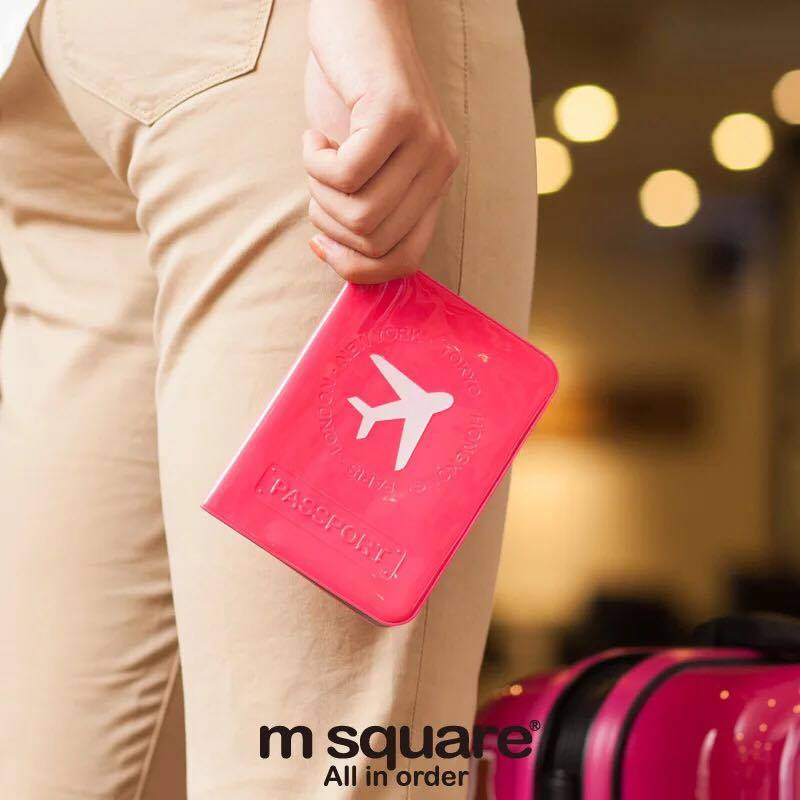 vỏ passport pvc Msquare