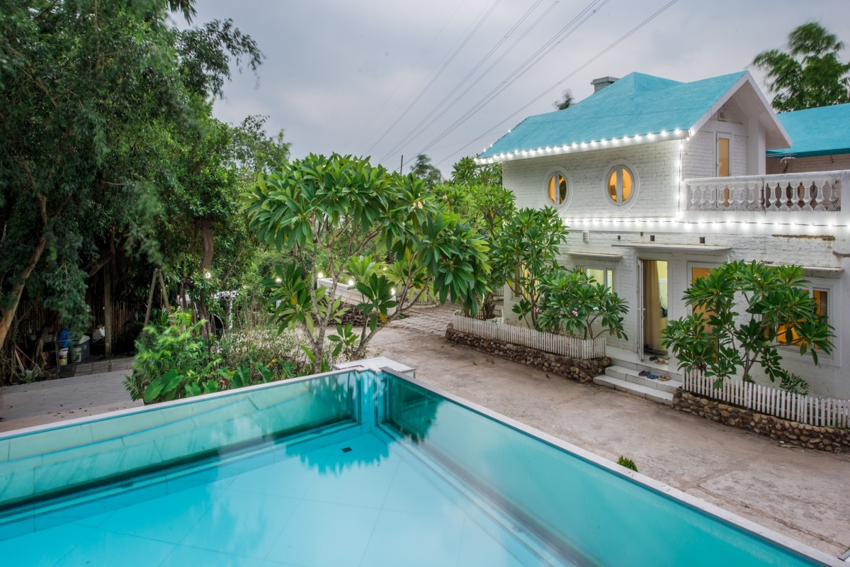 Villa gần Hà Nội có bể bơi