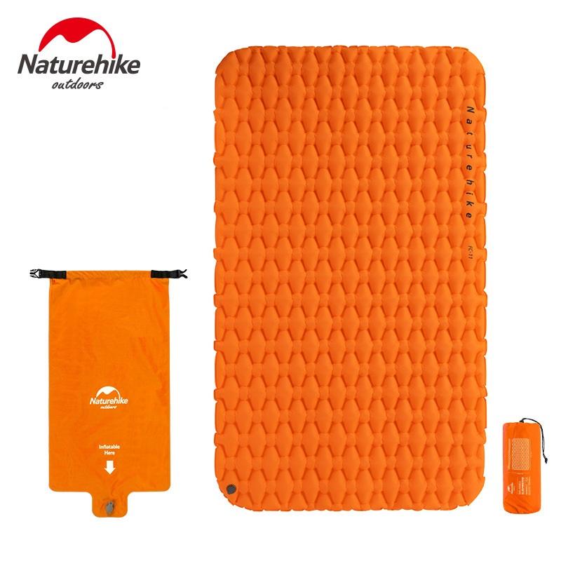 Đệm hơi du lịch 2 người Naturehike NH19Z055-P FC-11 màu cam