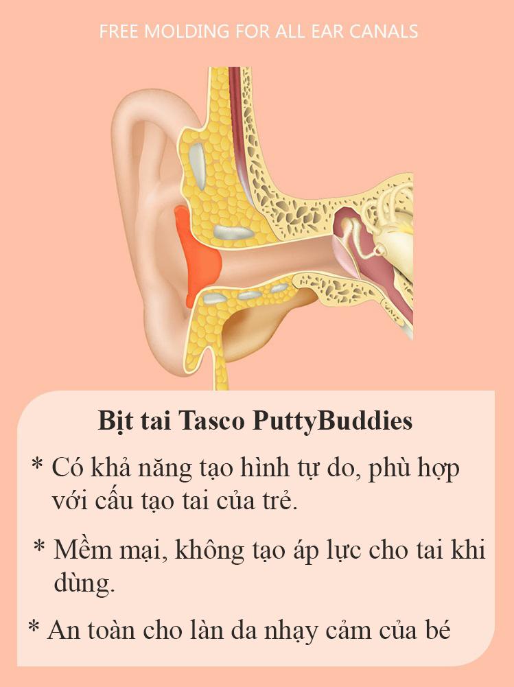 Tác dụng của bịt tai chống ồn PuttyBuddies