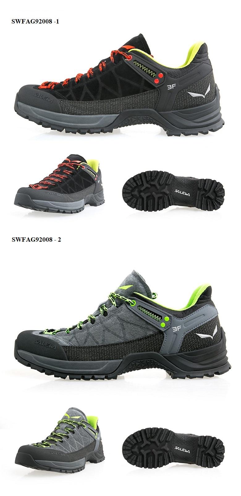 Giày leo núi nữ chống trượt Salewa SWFAG92008