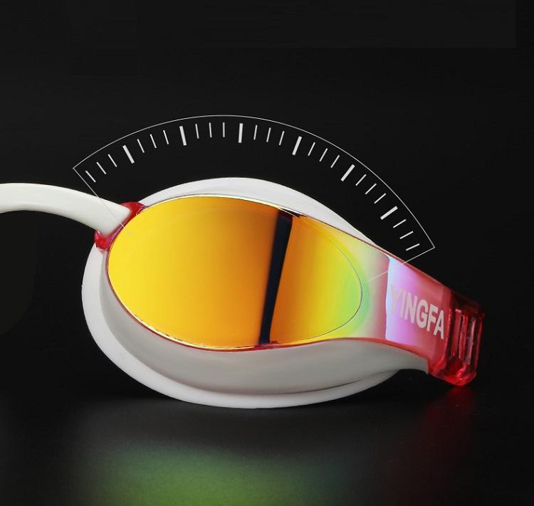 Thiết kế mặt kính bơi chuyên nghiệp HD chống sương mù Yingfa YF689AF (V)
