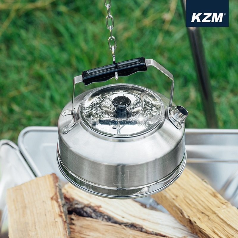 Ấm đun nước du lịch Hàn Quốc chống gỉ Kazmi K21T3K08 0.8L