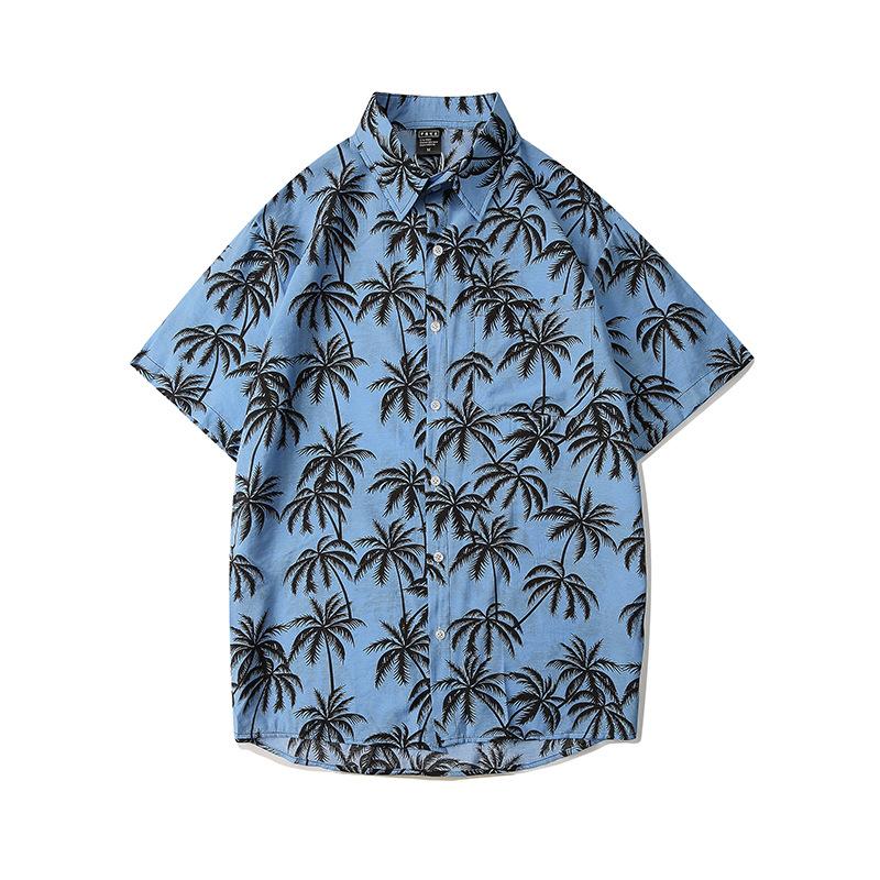 áo cây dừa màu xanh