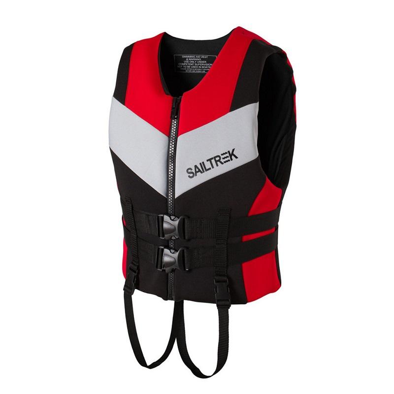 Áo phao bơi người lớn trẻ em Sailtrek I Đỏ
