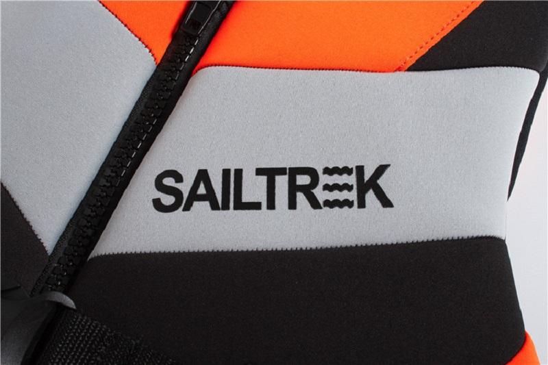 Chất liệu cao su Neoprene mềm dẻo của áo phao bơi người lớn trẻ em Sailtrek I Cam