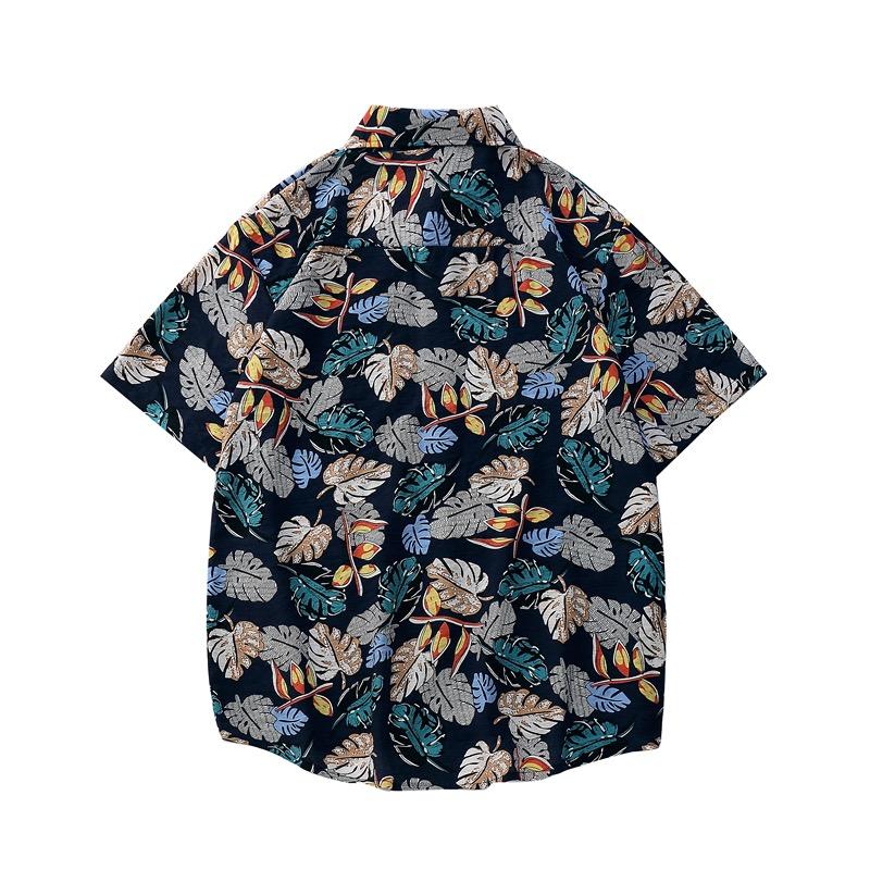 áo sơ mi đi biển Sear tím than 1127