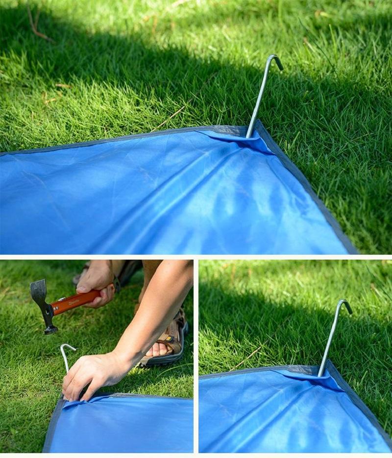 Bạt cắm trại dã ngoại Naturehike NH15D005-X 215*215cm