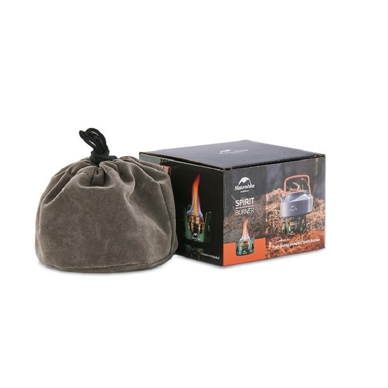 bếp cồn mini Naturehike NH18L001-T có túi đựng và bảo quản